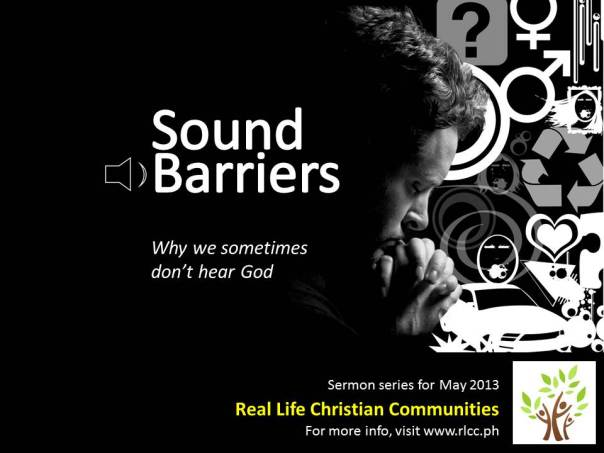 Sound Barriers Promo